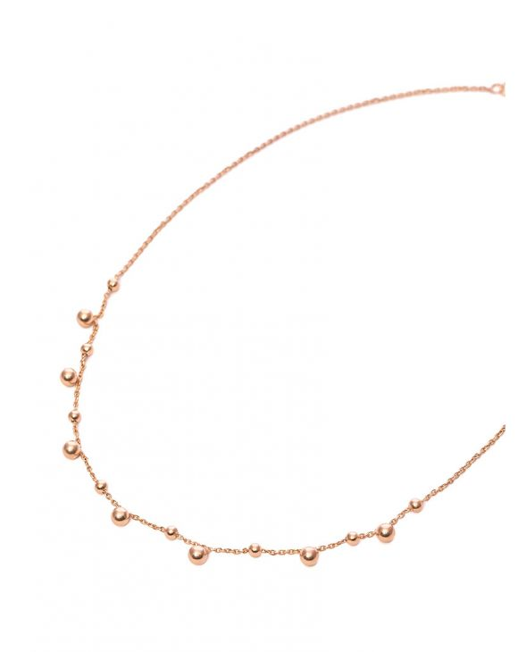 LYIDIA NECKLACE IN ROSE GOLD