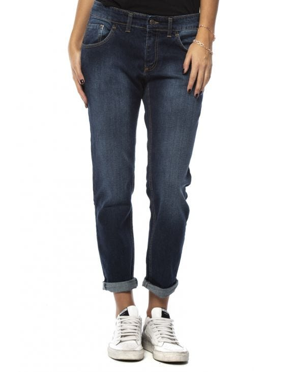 WMN DAVIS SLIM JEANS IN BLUE