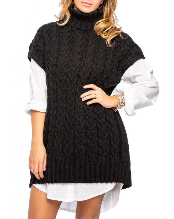 ANNE SWEATER IN BLACK