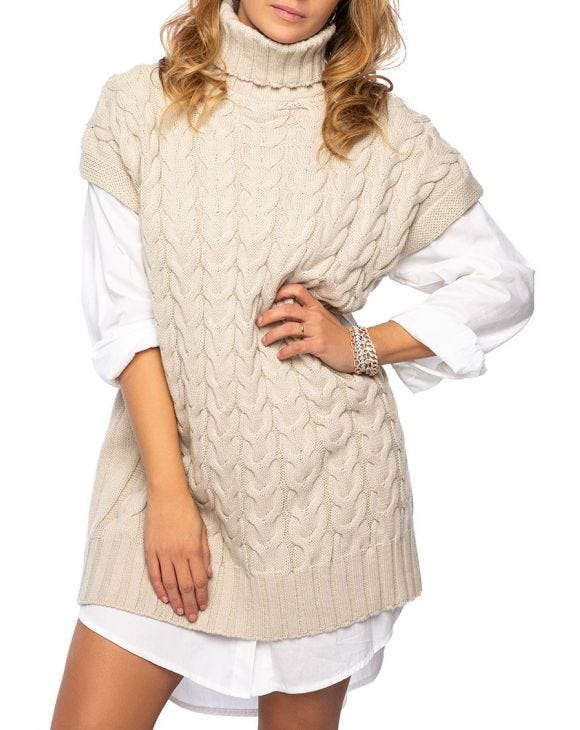 ANNE SWEATER IN CREAM