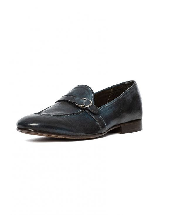 NATE LOAFERS IN DARK BLUE