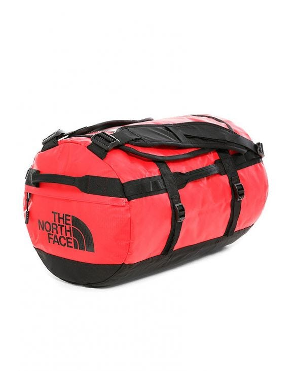 BASE CAMP DUFFEL SMALL IN RED