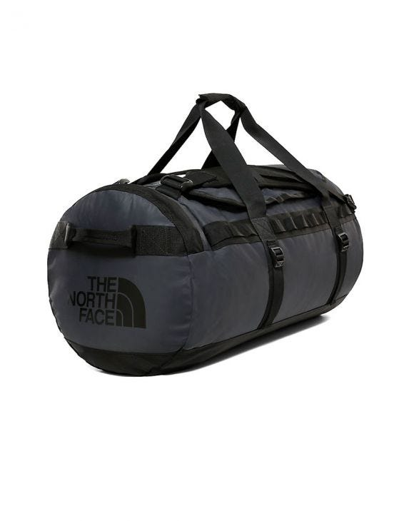 BASE CAMP DUFFEL IN BLACK - MEDIUM