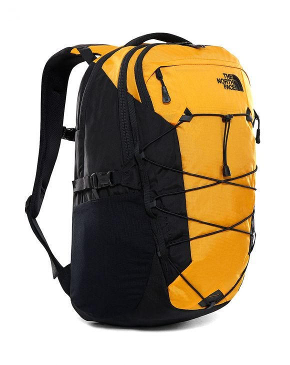 BOREALIS BACKPACK IN BLACK AND YELLOW