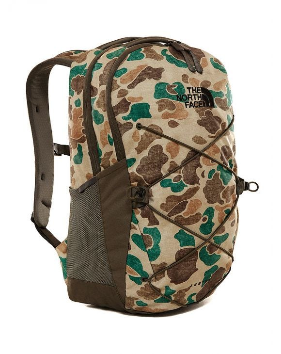 JESTER BACKPACK IN CAMOUFLAGE