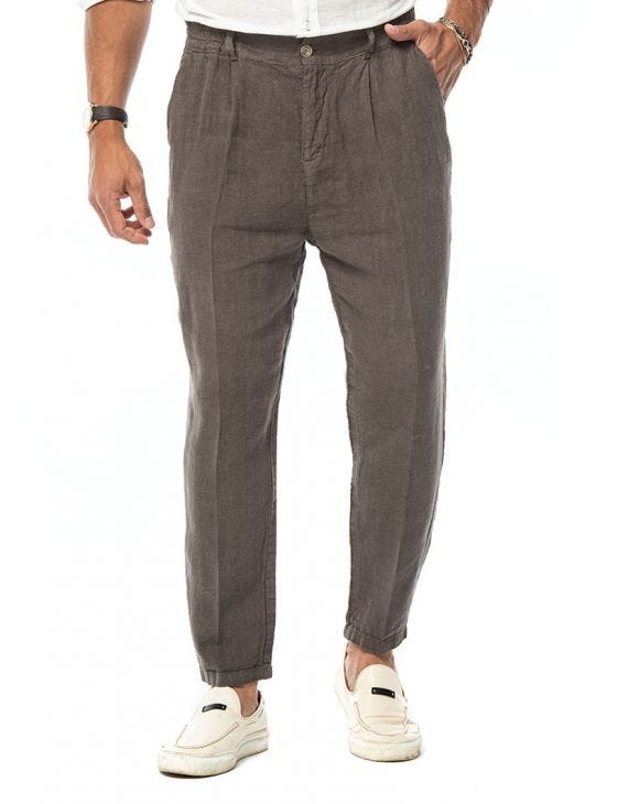 DAXTON CASUAL PANTS IN MUD
