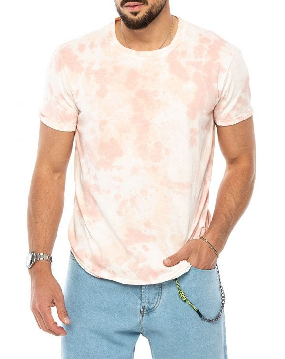 ALAN PRINTED T-SHIRT IN PINK