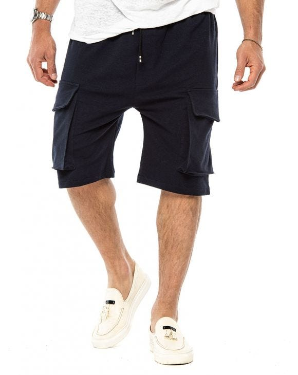 BLAKE CARGO SHORTS IN BLUE