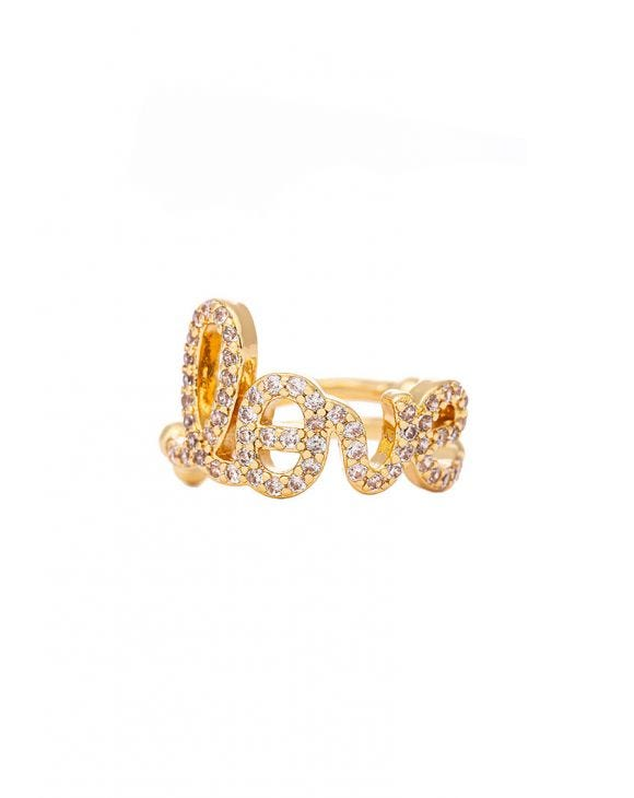ELLY LOVE RING IN GOLD