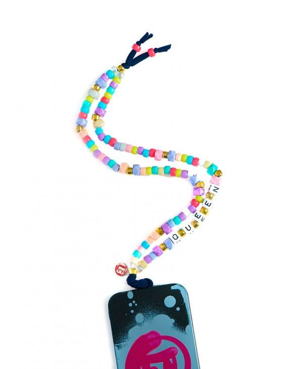 CUSTOMIZED MULTICOLORED PHONE HOLDER