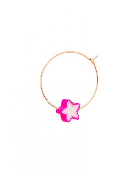 ARYA EARRING WITH PINK STAR
