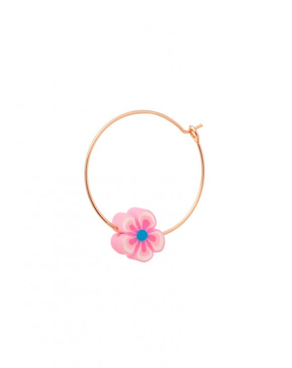 ARYA EARRING WITH PINK FLOWER