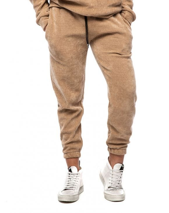 WMN BUD SWEATPANTS IN CAMEL