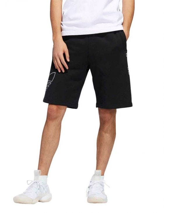 FT OTLN SWEATSHORT IN BLACK