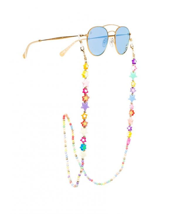EVIE GLASSES LANYARD WITH MULTICOLORED STARS