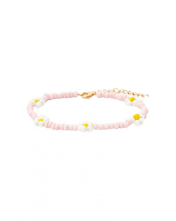 LEXI ANKLET IN PINK