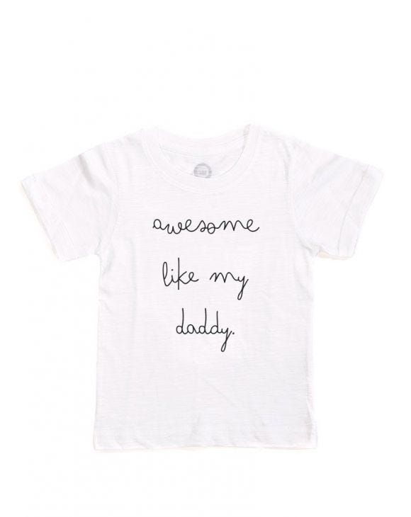 AWESOME KID'S T-SHIRT IN WHITE