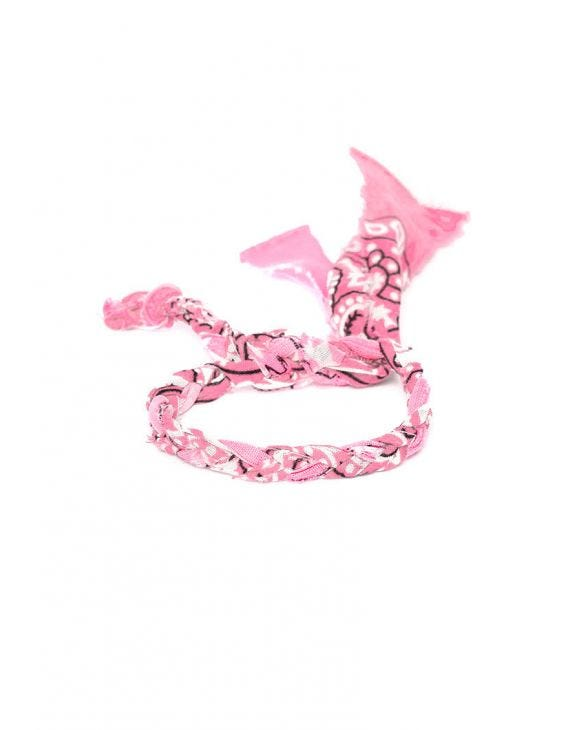 LILY ANKLET IN PINK