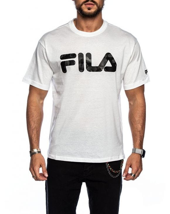 MEN FEIVEL TEE IN WHITE