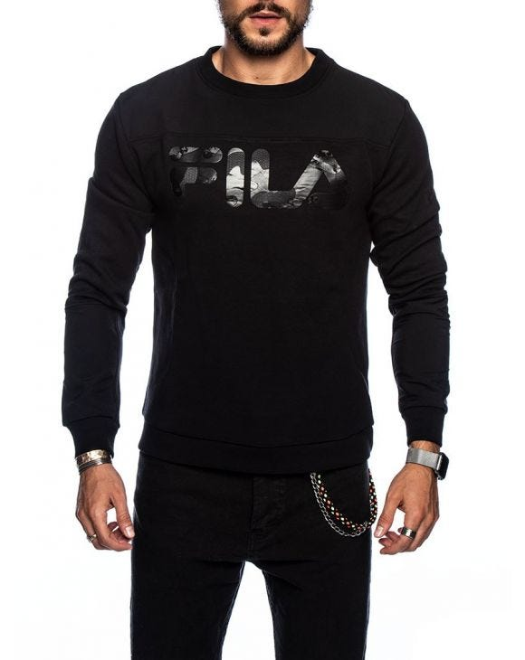 MEN FALLON SWEATER IN BLACK