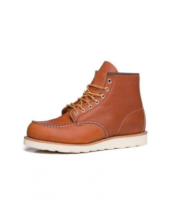 RED WING LEDER STIEFEL IN HELLBRAUN