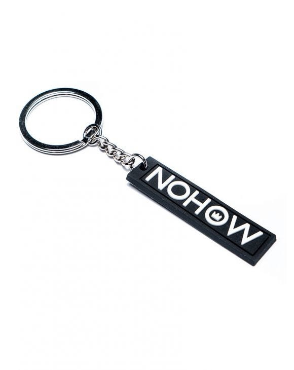 BLACK NOHOW KEY CHAIN