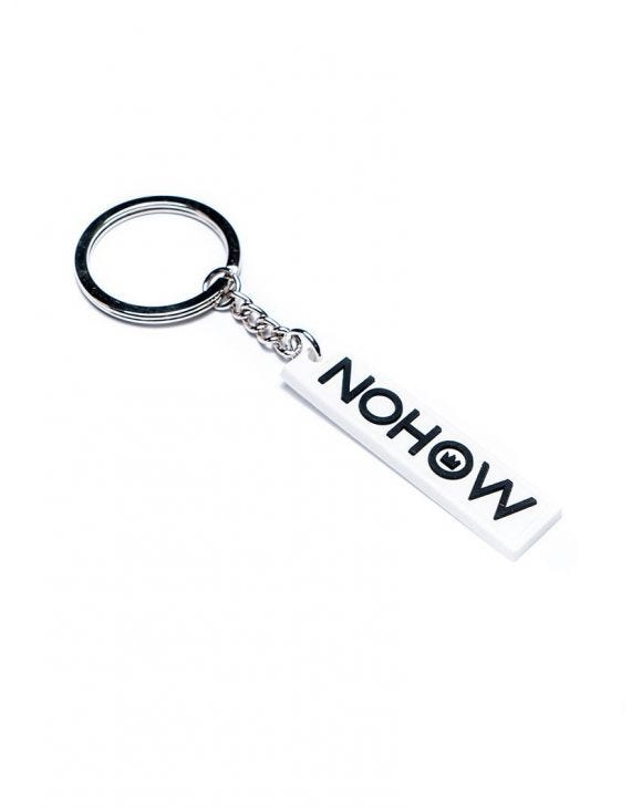 NOHOW KEYCHAIN IN WEISS