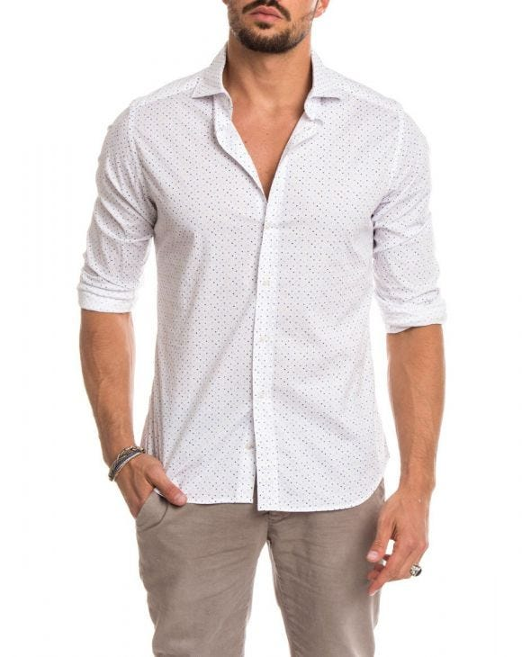 SKY POINT COTTON SHIRT