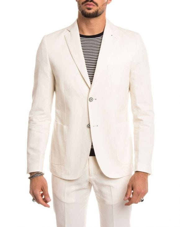 WHITE BLAZER SUIT