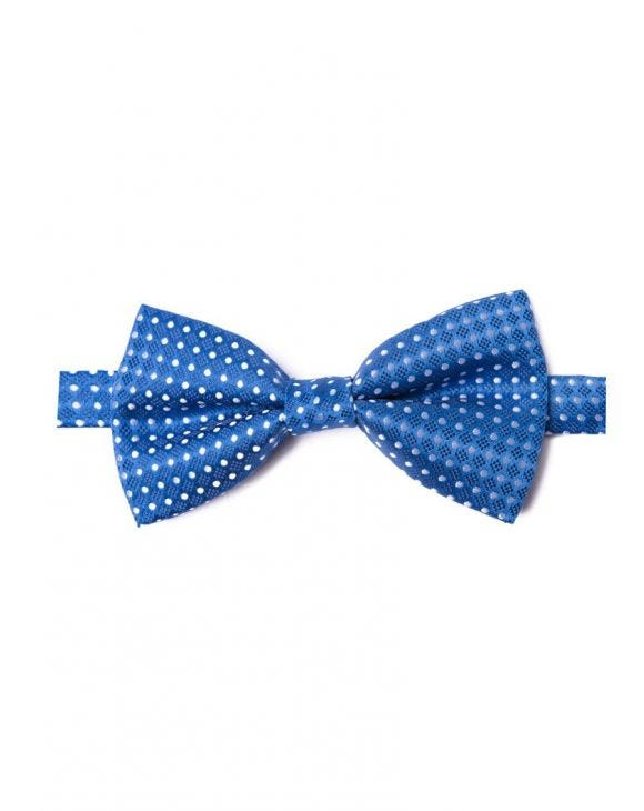 V9 POIS PAPILLON IN BLAU