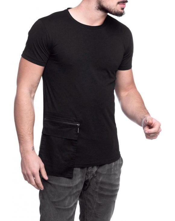 2130 T-SHIRT IN SCHWARZ