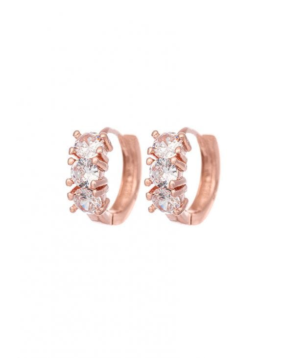 MARY EARRINGS IN ROSE GOLD