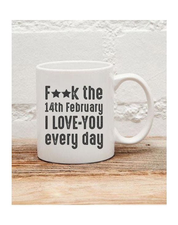 I LOVE YOU EVERYDAY MUG
