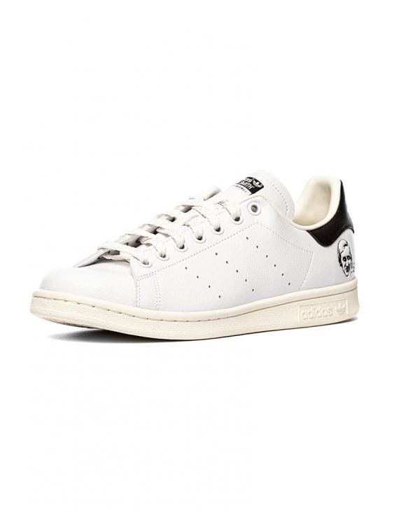 STAN SMITH SNEAKERS BIANCHE CON FIRMA