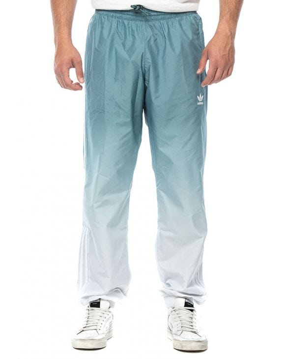 ADICOLOR 3D TRACK PANTS IN WHITE AND SKY BLUE