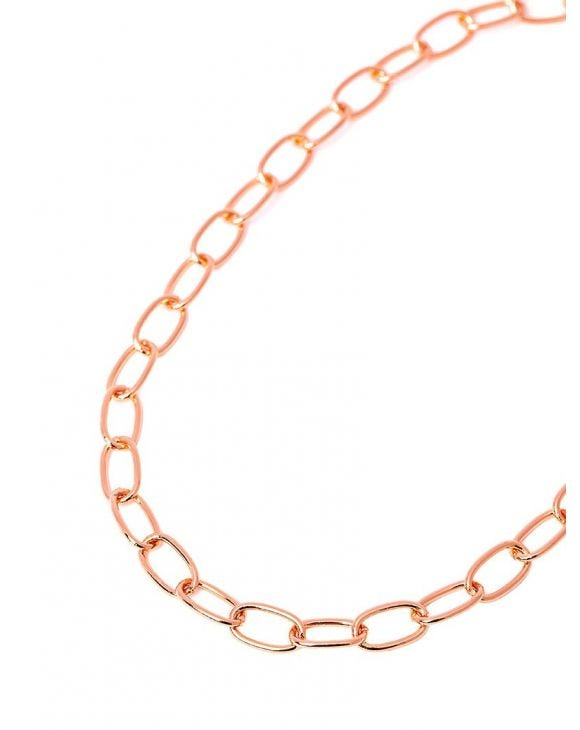 MAYA CHAIN NECKLACE IN ROSE GOLD