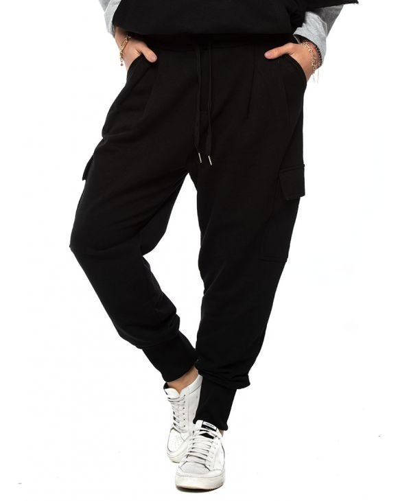 WMN ZACH SWEATPANTS IN BLACK