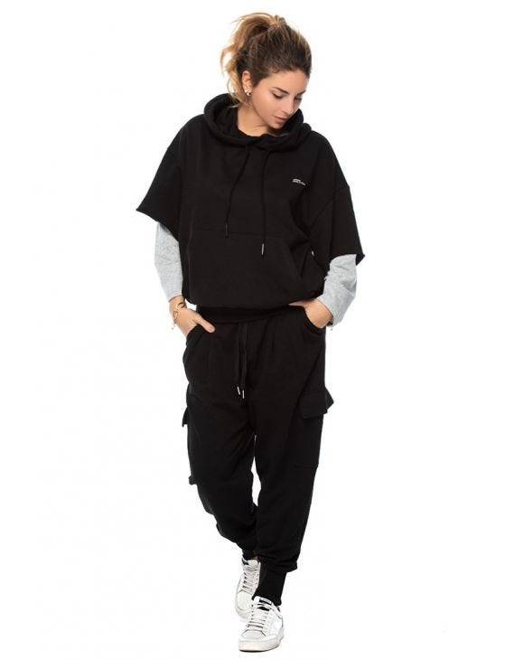 WMN ZACH TRACKSUIT IN BLACK