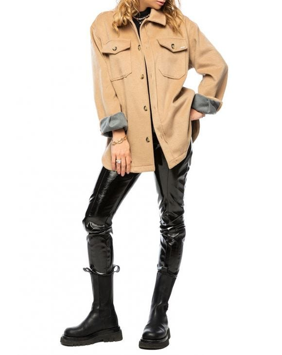 WMN GABE JACKET IN CAMEL