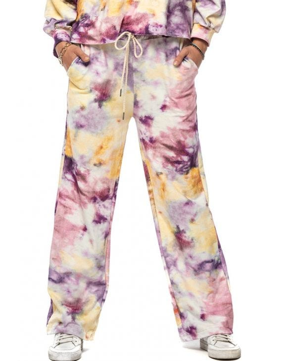 LUSSY SWEATPANTS IN TIE-DYE FANTASY