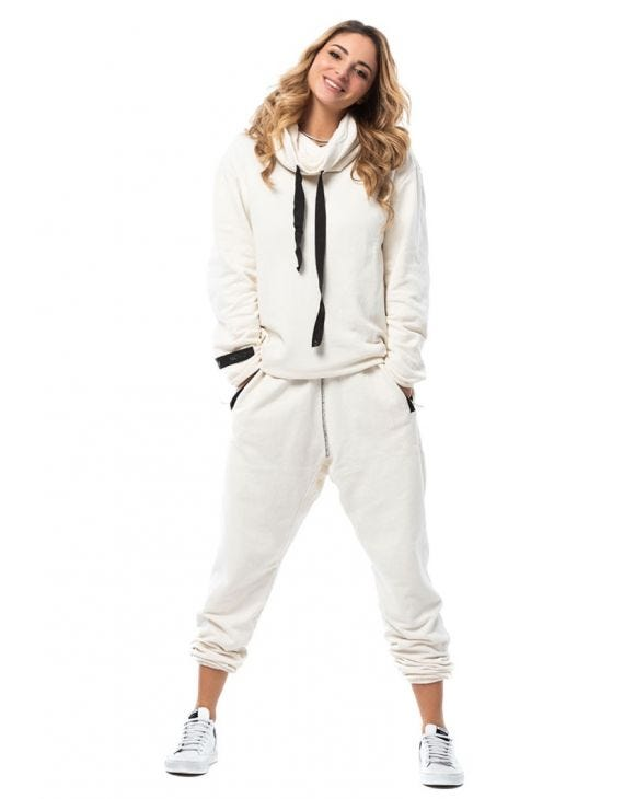 WMN YAGU TRACKSUIT IN WHITE
