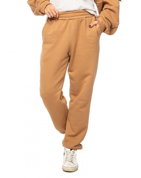 EMILY SWEATPANTS IN CAMEL