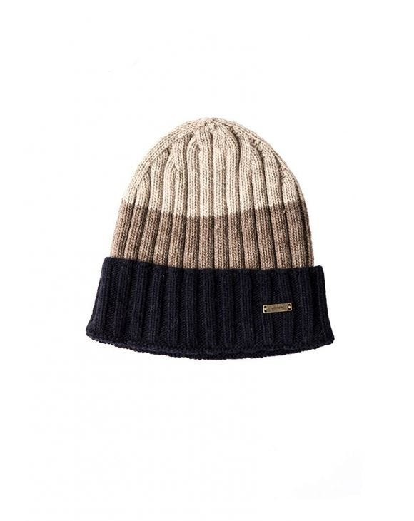 CALLISTO FISHERMAN BEANIE IN CAMEL