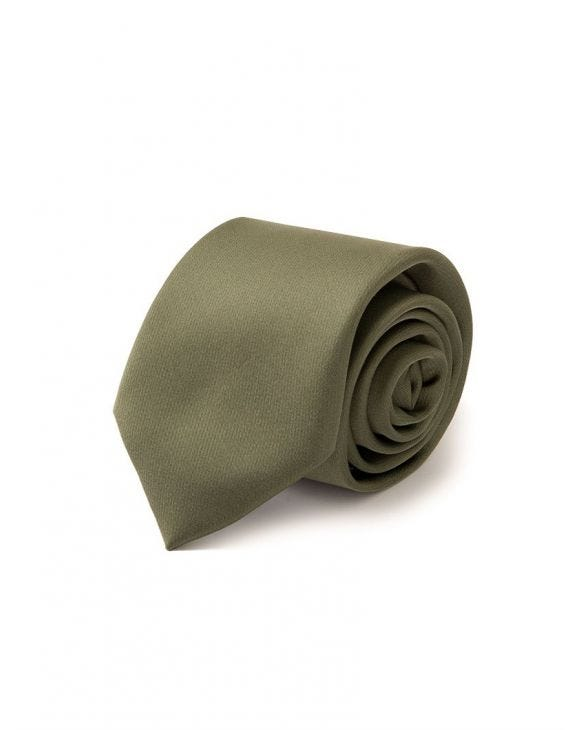 SWEEN SILK TIE IN GREEN
