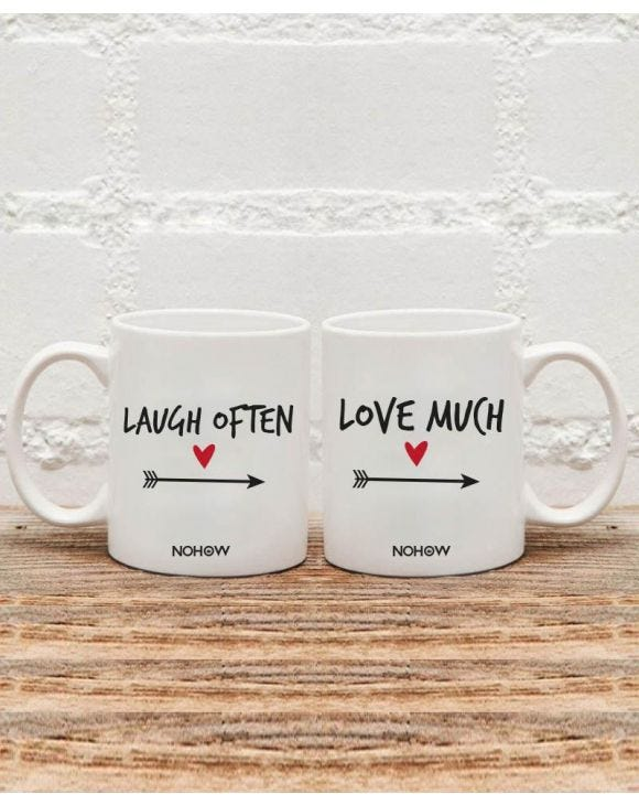 LAUGH & LOVE MUG