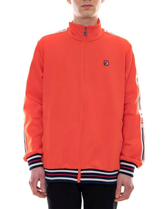 MAN VESTE EN ORANGE