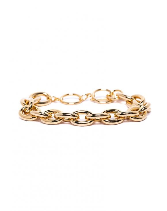 UMA CHAIN BRACELET IN GOLD