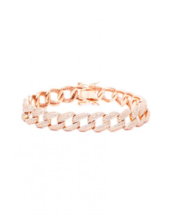 MIA GROUMETTE BRACELET IN ROSE