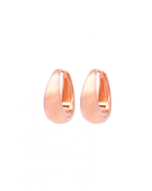 HALO EARRINGS IN ROSE GOLD