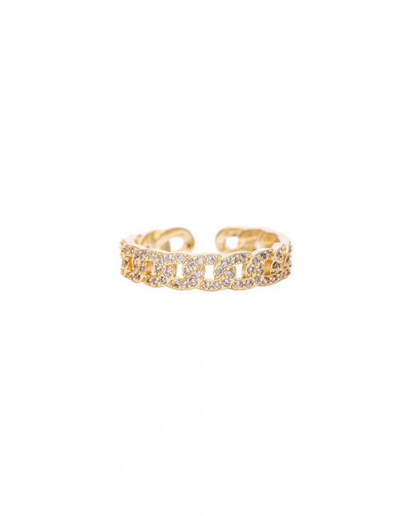 CAREN RING IN GOLD